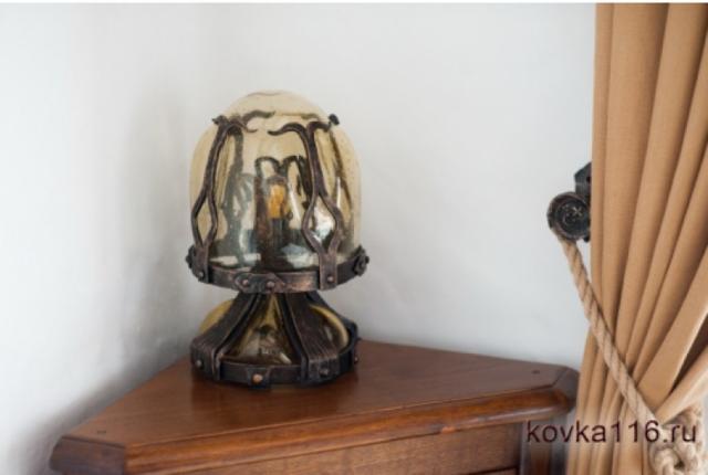 Оригинальный светильник из металла своими руками