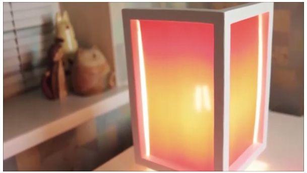 Парящая лампа (ночник) своими руками