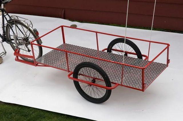 Надежный велосипедный прицеп своими руками для поездок на отдых