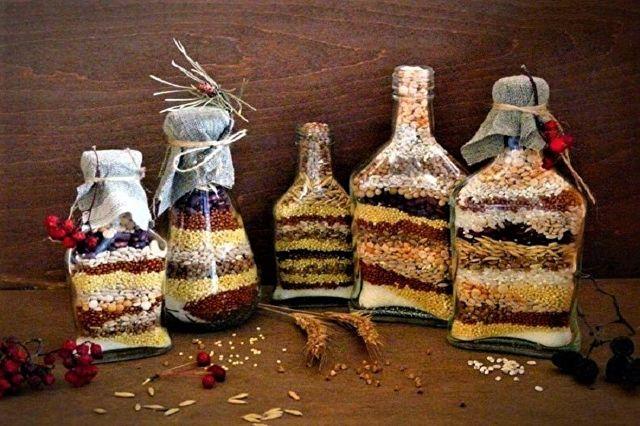 Как сделать украшения из стеклянных бутылок своими руками