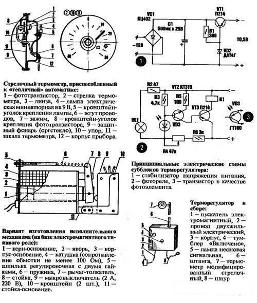 Механика для теплицы своими руками