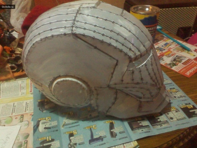 Шлем железного человека своими руками