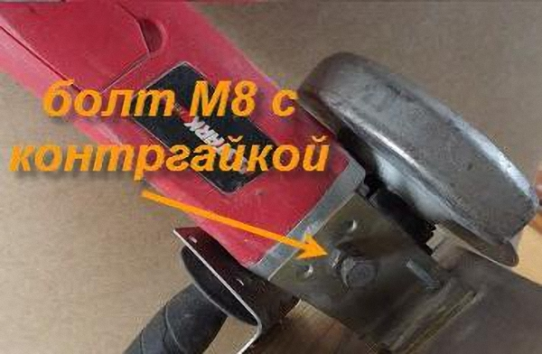 Столик - приставка для болгарки своими руками