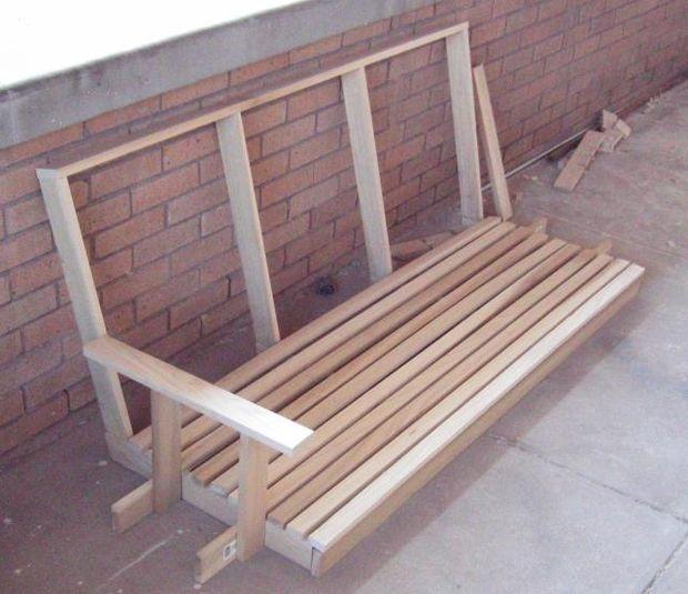 Качели-скамейка своими руками