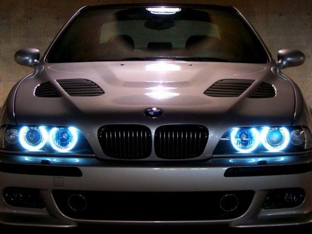 Ангельские глазки на авто своими руками