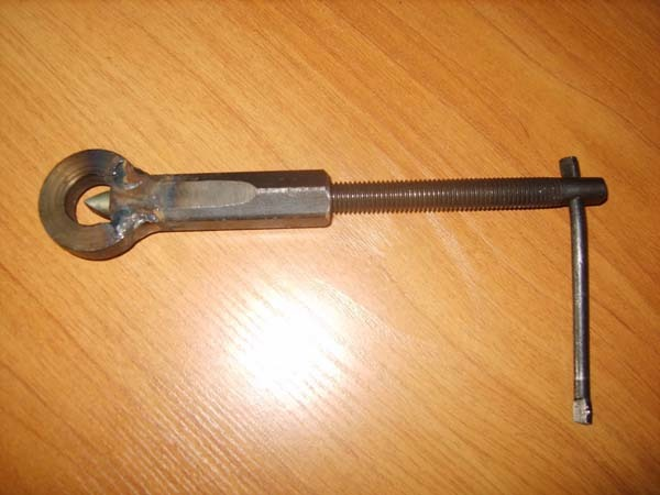 Гайкокол из рулевого наконечника своими руками