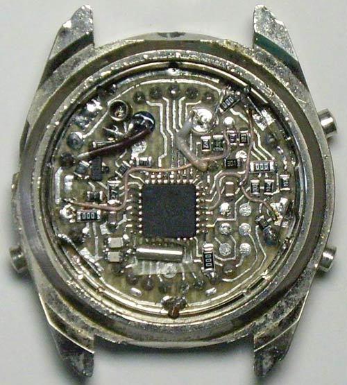 Электронные песочные часы своими руками