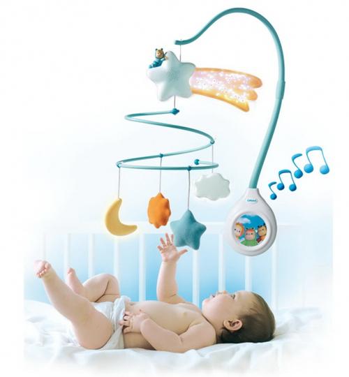 Мобильная кроватка для ребенка своими руками