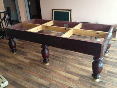 Бильярдный стол своими руками