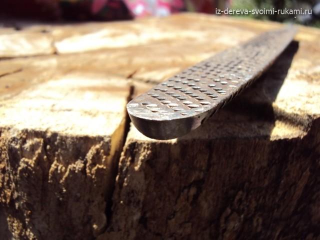 Кольцевой резец по дереву своими руками