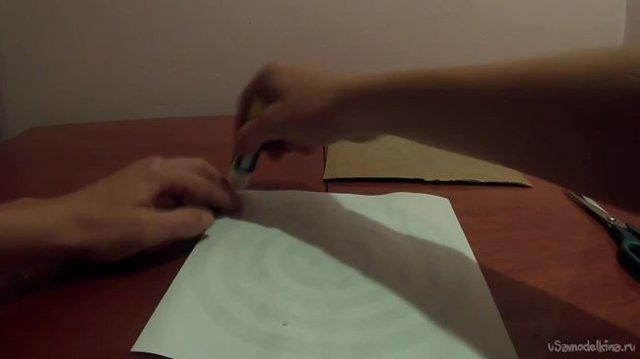 Часы в виде доски для дартс своими руками