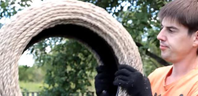 Столик из колеса своими руками