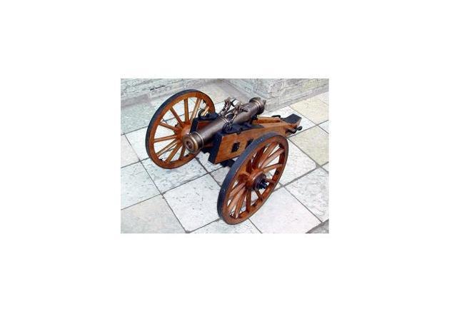 Миниатюрная «пушка» своими руками