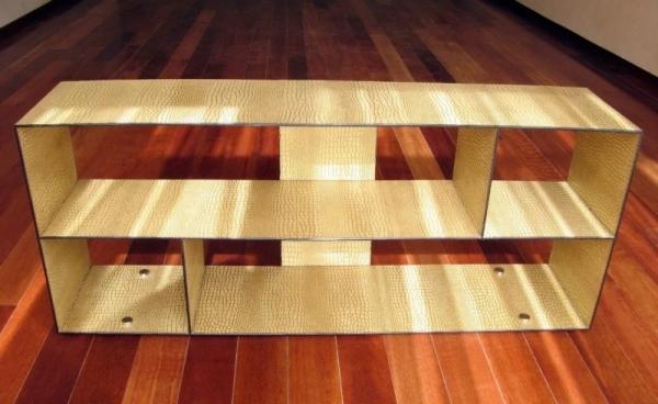 Столик с полками для обуви своими руками