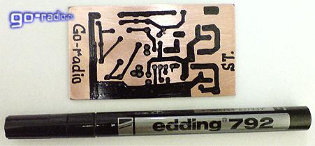 Флюсовый маркер своими руками