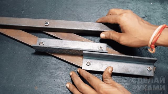 Ручка для переноски тяжелых вещей своими руками