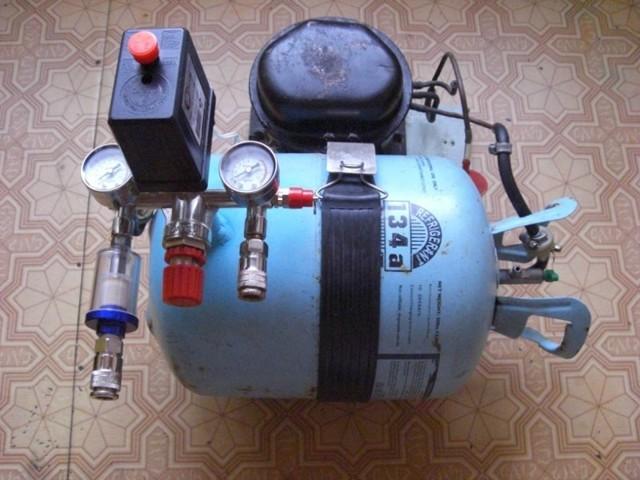 Воздушный компрессор своими руками
