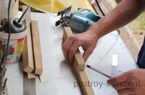 Делаем своими руками подставку для ног