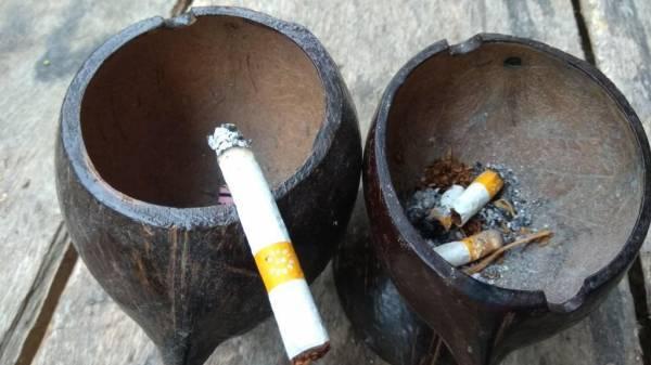 Пепельница своими руками