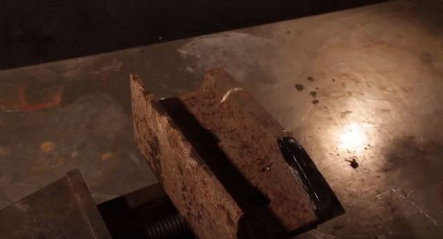 Наковальня из рельса, сделанная своими руками