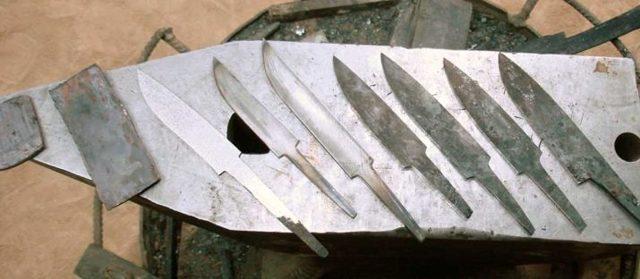 Качественный охотничий нож своими руками