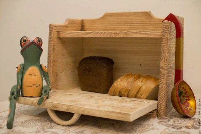 Хлебница из фанеры своими руками
