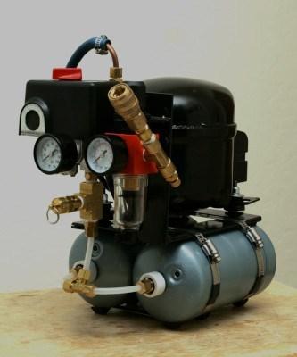Бесшумный компрессор в гараж своими руками
