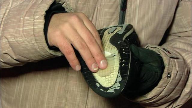 Антилед - покрытие для подошвы своими руками