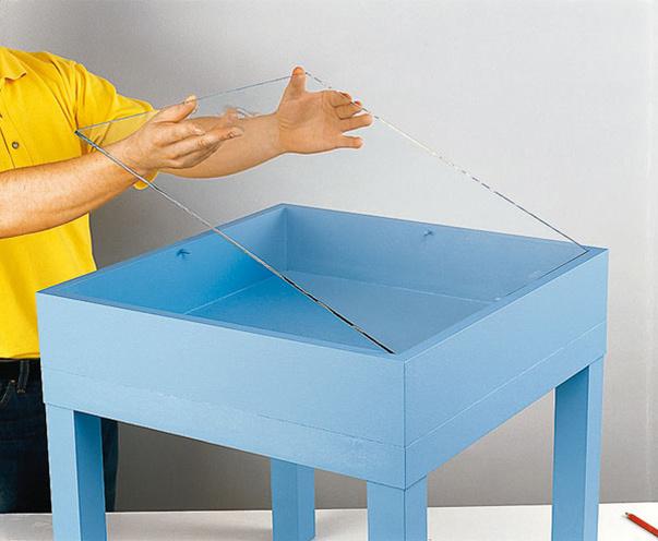 Стол-витрина своими руками