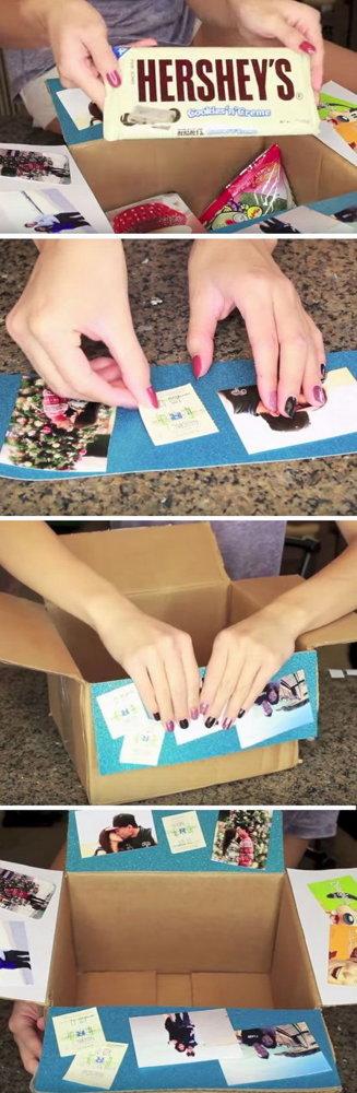 Как сделать подарок своими руками человеку у которого все есть