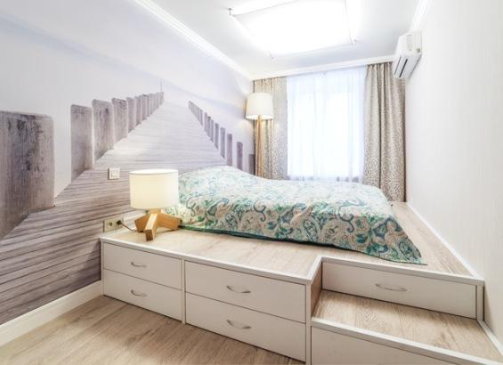 Подиум для спальни своими руками