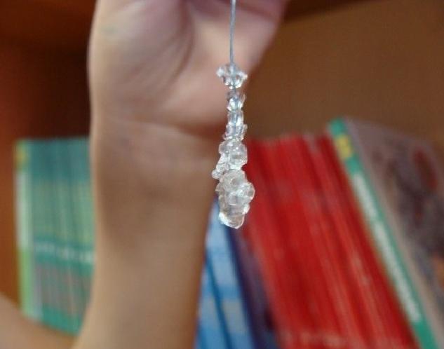 Светящийся кристалл своими руками