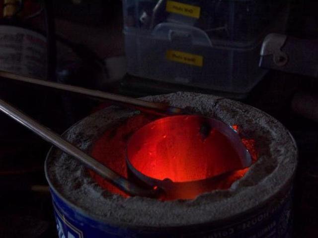 Электрическая печь для плавки алюминия своими руками