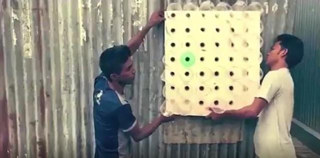 Как сделать простой но эффективный кондиционер из гофрированного картона своими руками