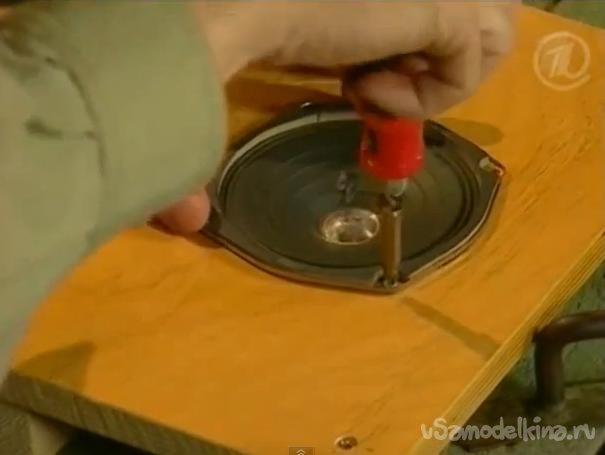 Акустическая стиральная машина своими руками