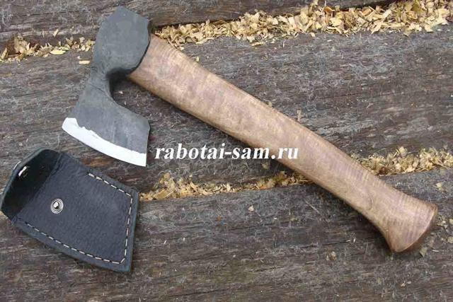 Маленький нож-топорик своими руками