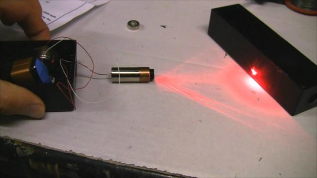 Лазер своими руками