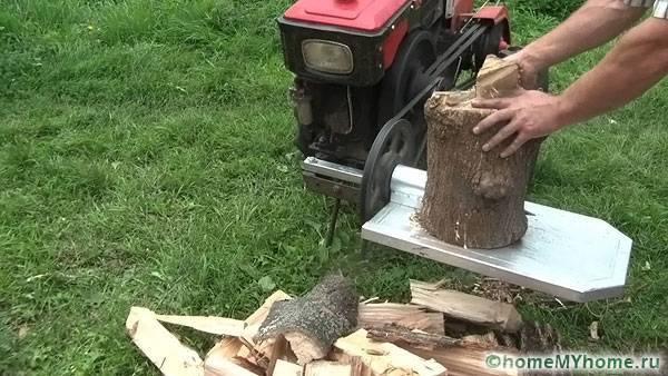 Гидравлический дровокол своими руками