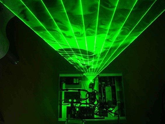 Лазерная арфа своими руками