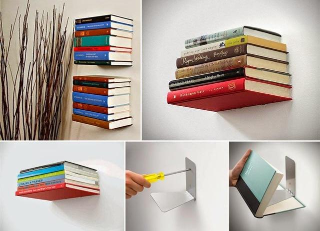 Угловые книжные полки своими руками