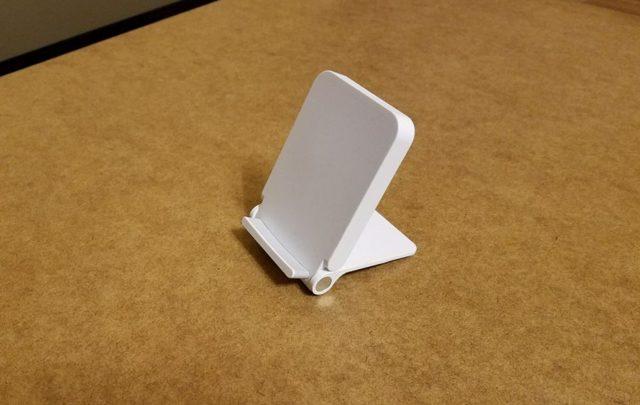 Подставка для телефона с функцией беспроводной зарядки своими руками