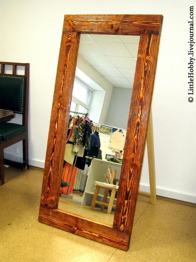 Массивное  зеркало своими руками