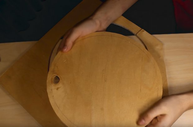 Колесо для хомяка своими руками