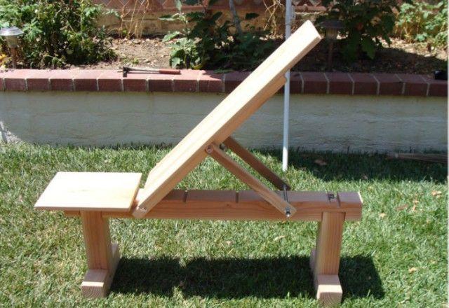 Гимнастическая скамья своими руками