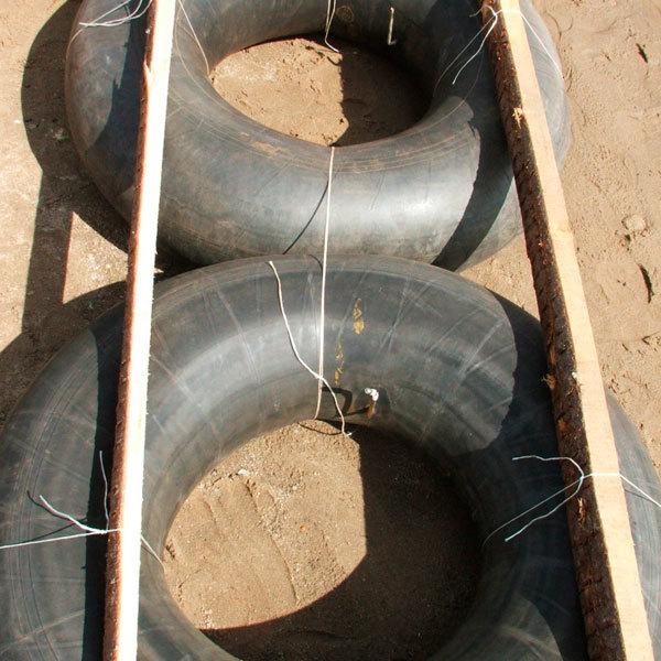 Плотик для рыболовов из камер своими руками