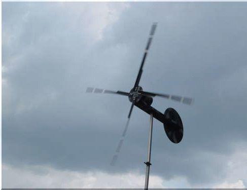 Маломощный ветрогенератор на основе дрели своими руками