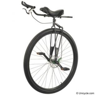 Уницикл из велосипеда своими руками