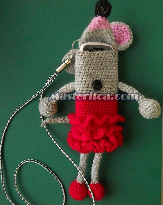 Мышь для телефона своими руками
