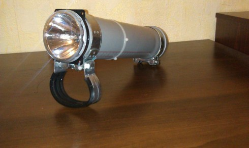 Подводный светодиодный фонарик своими руками