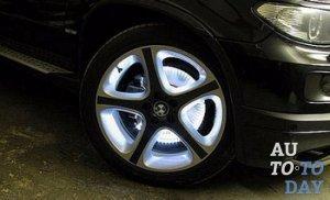 Подсветка колес автомобиля своими руками